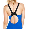 speedo Boom Splice Muscleback Swimsuit Women Beautiful Blue/Black
